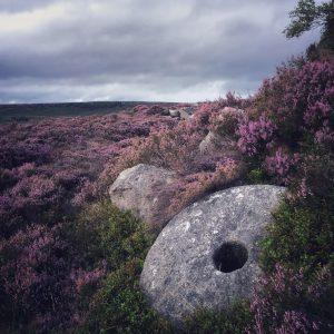 millstones of the peak district